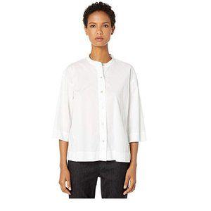 Eileen Fisher Organic Cotton Stretch Shirt